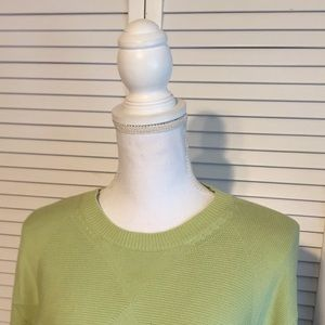 🔥IZOD🔥MENS GREEN CREWNECK SWEATER